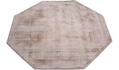 My HOME Teppich »Shirley«, rechteckig, 9 mm Höhe, in Achteckform, Wohnzimmer kaufen