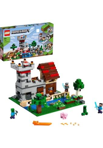 """LEGO® Konstruktionsspielsteine """"Die Crafting - Box 3.0 (21161), LEGO® Minecraft™"""", Kunststoff, (564 - tlg.) kaufen"""