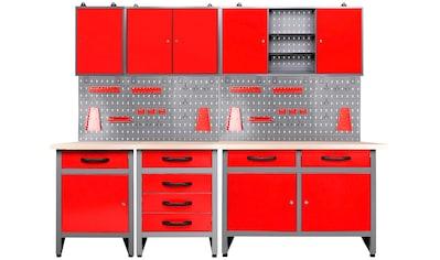 ONDIS24 Werkstatt-Set »Bastler«, höhenverstellbar, inkl. Hakenset kaufen