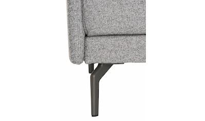 hülsta sofa Ecksofa »hs.450«, Armlehne sehr schmal, Breite 234 cm, Alugussfuß... kaufen