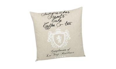 GO-DE Dekokissen »High Tea«, (L/B): ca. 50x50 cm kaufen