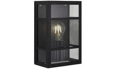 Brilliant Leuchten Außen-Wandleuchte, E27, Getta Außenwandleuchte schwarz kaufen