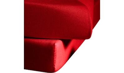 fleuresse Spannbettlaken »Ines«, hochwertiger Jersey aus reiner Baumwolle kaufen