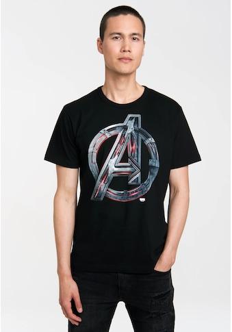 LOGOSHIRT T - Shirt mit lässigem Logodruck »Avengers  -  Age Of Ultron« kaufen