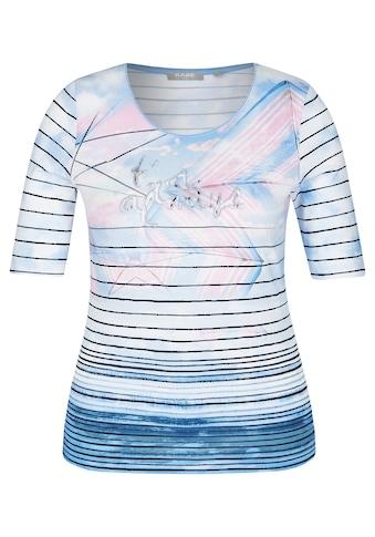 Rabe Shirt mit Mustermix und Glitzer - Effekt kaufen