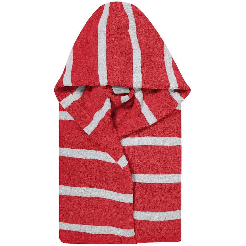 Seahorse Kinderbademantel »Menton«, (1 St.), mit feinen Streifen
