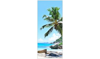 MySpotti Spritzschutz »fresh F2 Seychellen«, 90 x 210 cm kaufen