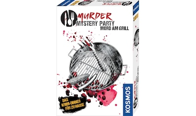 "Kosmos Spiel, ""Murder Mystery Party  -  Mord am Grill"" kaufen"