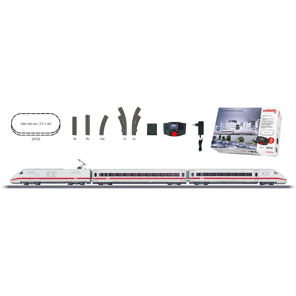Märklin Modelleisenbahn-Set »Märklin Digital - Startpackung ICE 2, Wechselstrom - 29792«