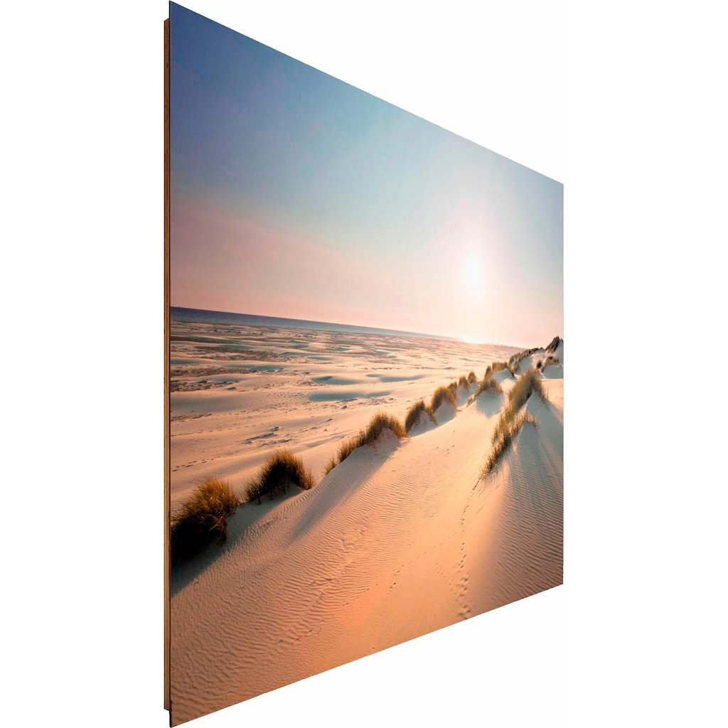 Reinders! Deco-Panel »Sonnige Dünen«, 140/100 cm