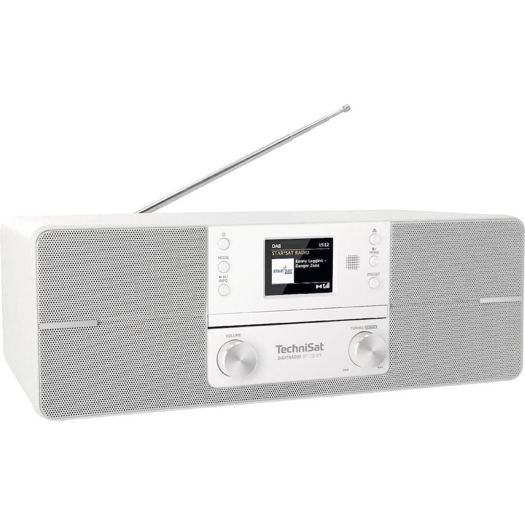 TechniSat Digitalradio (DAB+) »DIGITRADIO 371 CD BT Stereo«, (Bluetooth UKW mit RDS-Digitalradio (DAB+) ), CD, Bluetooth, Farbdisplay, USB