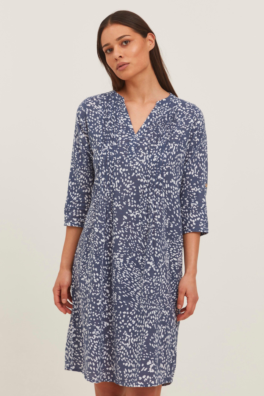 fransa -  Blusenkleid  Blusenkleid, lockeres Sommerkleid