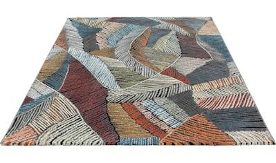 merinos Teppich »Relief 22869«, rechteckig, 18 mm Höhe, Wohnzimmer kaufen