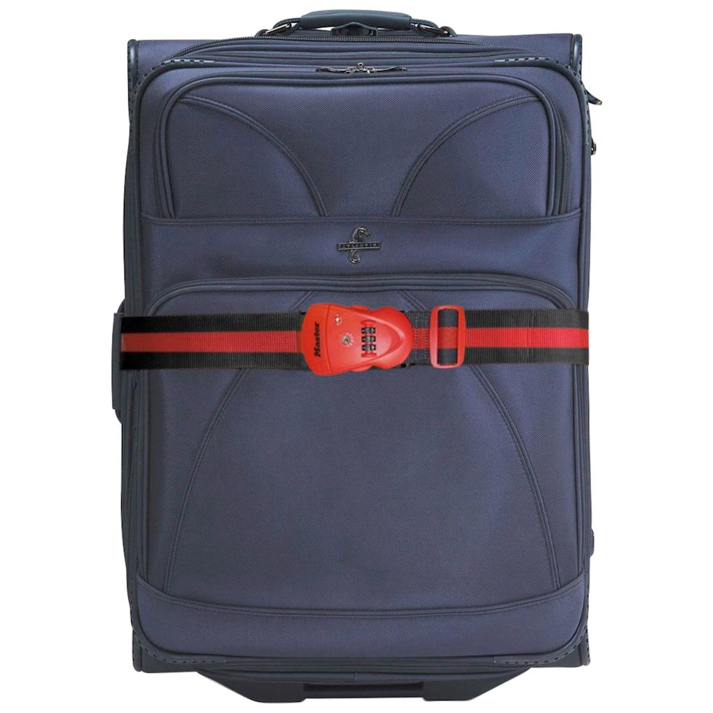 Master Lock Koffergurt, mit Zahlenschloss, 2 m
