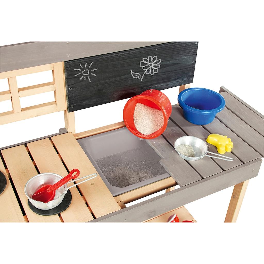 Pinolino® Spielküche »Matschküche Fritz«, BxTxH: 134x43x90 cm