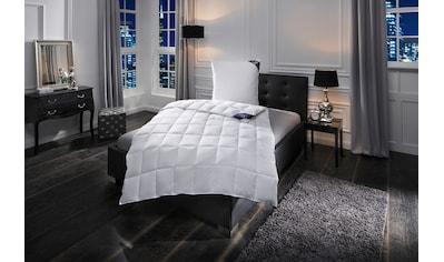 Excellent Daunenbettdecke + Federkissen »Zürich«, (Spar-Set), Gutes Wärmeverhalten bei hoher Leichtigkeit kaufen