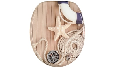 Sanilo WC-Sitz »Maritime«, mit Absenkautomatik kaufen