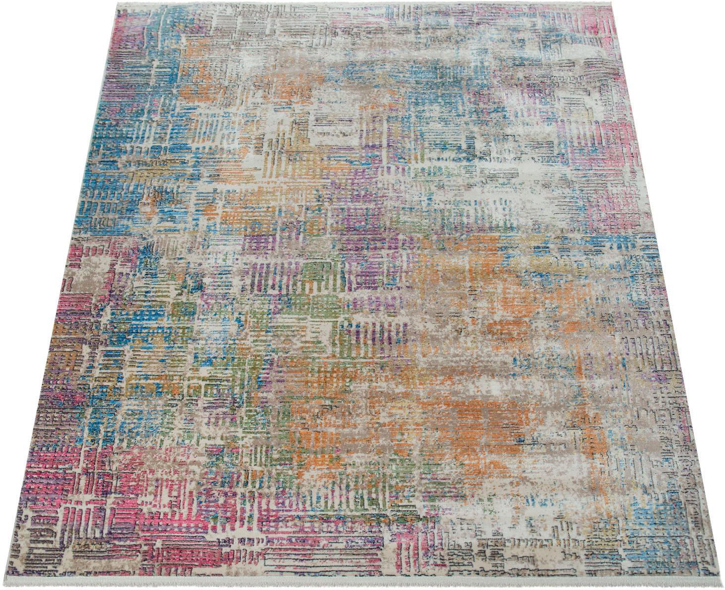 Teppich Picta 112 Paco Home rechteckig Höhe 12 mm maschinell gewebt
