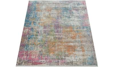 Paco Home Teppich »Picta 112«, rechteckig, 12 mm Höhe, Vintage Design, Wohnzimmer kaufen