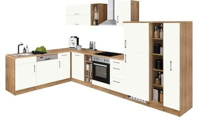 HELD MÖBEL Winkelküche »Colmar«, ohne E-Geräte, Stellbreite 210/360 cm kaufen