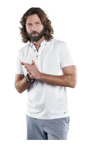 emilio adani Sportives Poloshirt aus hochwertiger Baumwolle kaufen