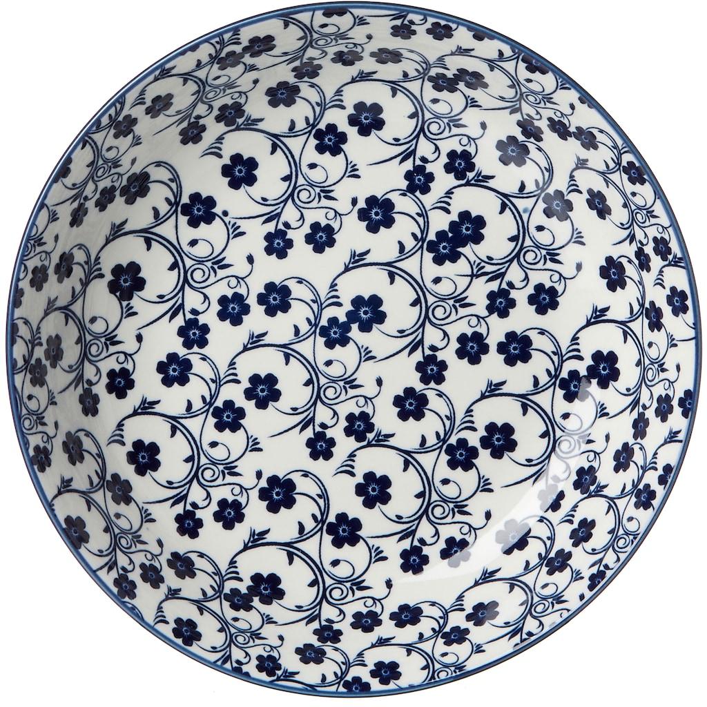 Ritzenhoff & Breker Suppenteller »ROYAL SAKURA«, (Set, 4 St.), Keramik, Ø 20,5 cm