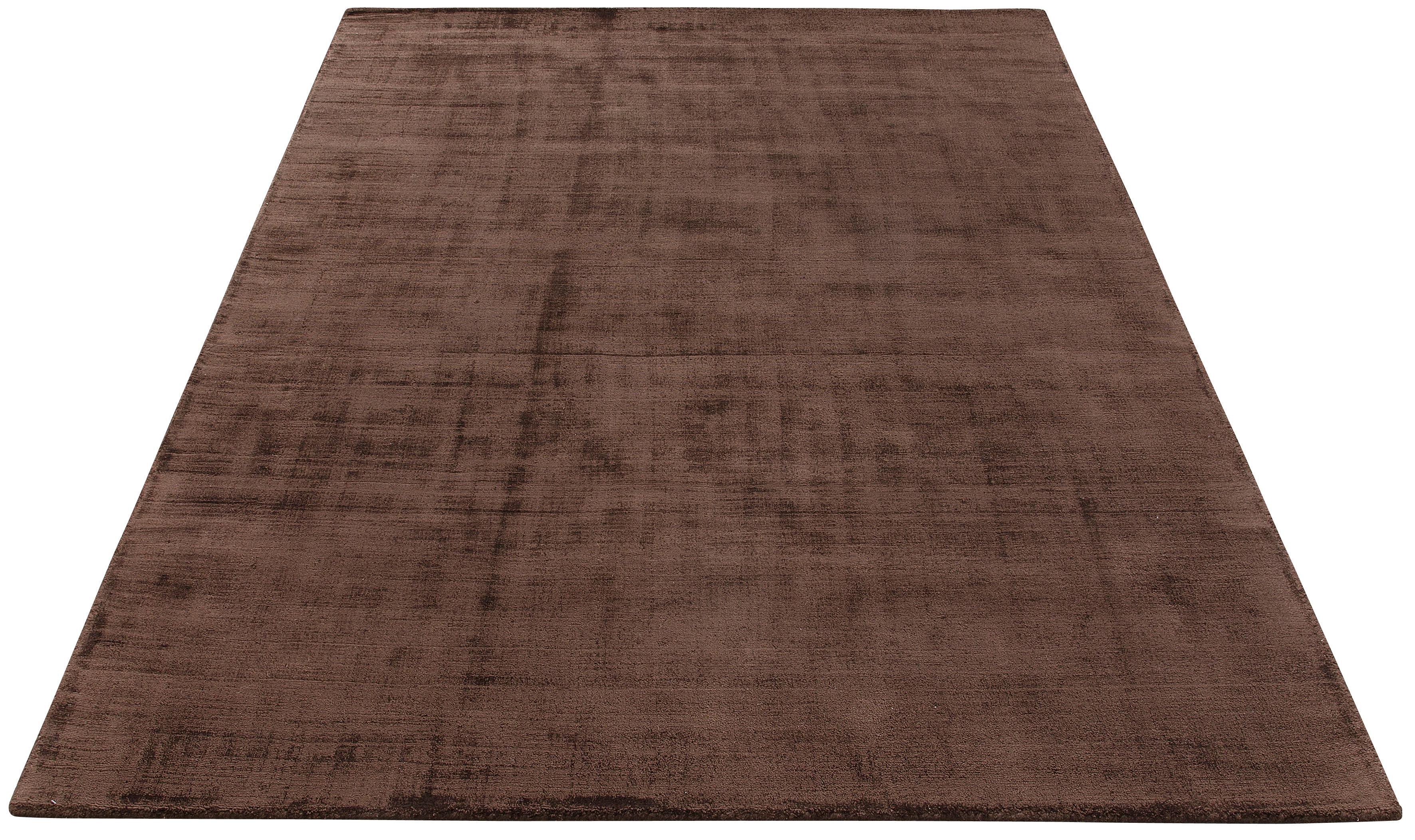Teppich Shirley my home rechteckig Höhe 12 mm handgewebt