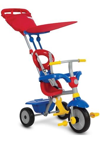 smarTrike® Dreirad »Zip Plus, blau rot«, mit hoher Rückenlehne kaufen