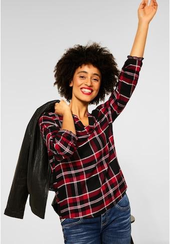 STREET ONE Klassische Bluse, mit gesmokten Details kaufen