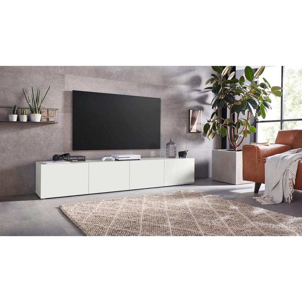 borchardt Möbel Lowboard »Sophia«, Breite 200 cm mit 4 Türen, stehend und hängend