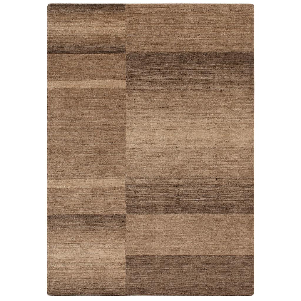 Wollteppich, »Jorun«, Theko Exklusiv, rechteckig, Höhe 14 mm, handgewebt