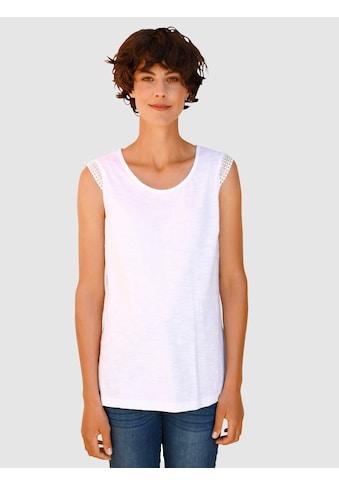 Dress In Trägertop, mit Crochettape Arm kaufen