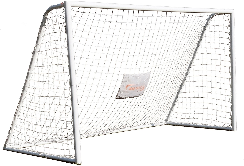 4 Uniq Fußballtor 366 weiß Fußball Ausrüstung Sportarten