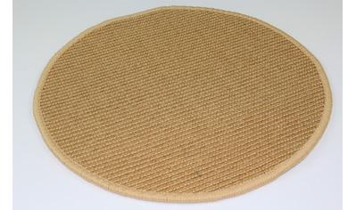 Dekowe Sisalteppich »Mara S2, gekettelt, Wunschmaß,«, rund, 5 mm Höhe, Flachgewebe,... kaufen