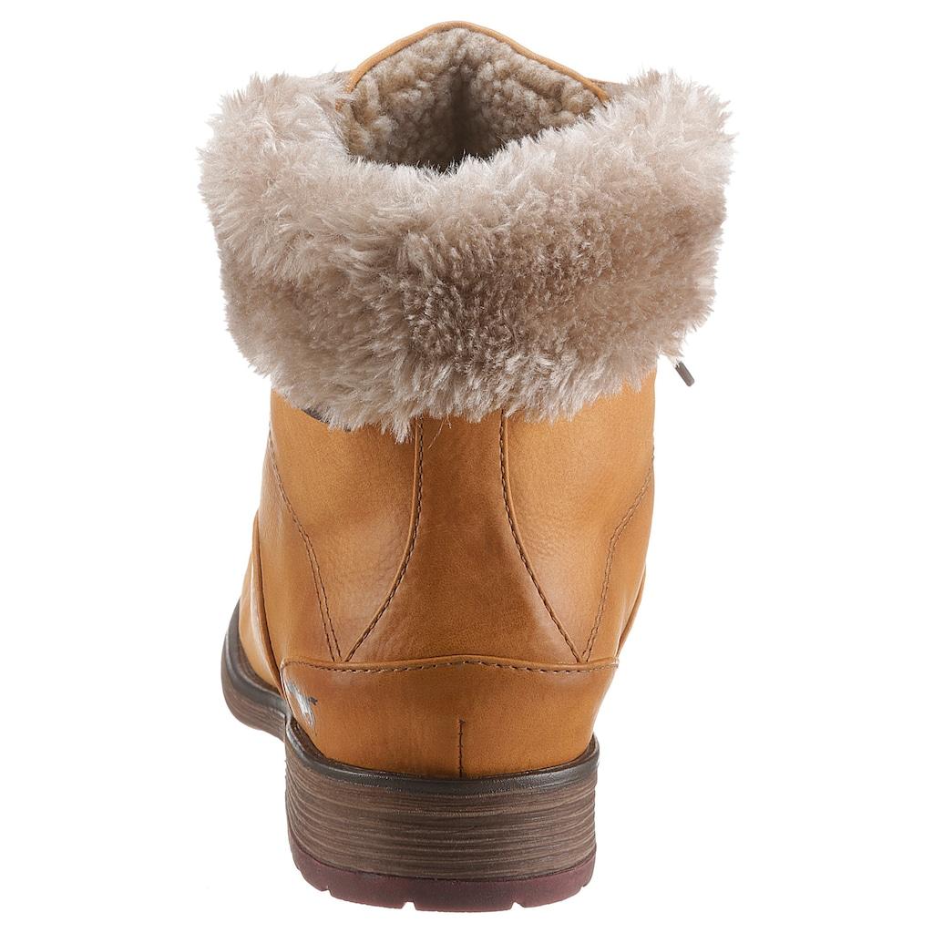 Mustang Shoes Winterboots, mit Bergsteiger-Schnürung
