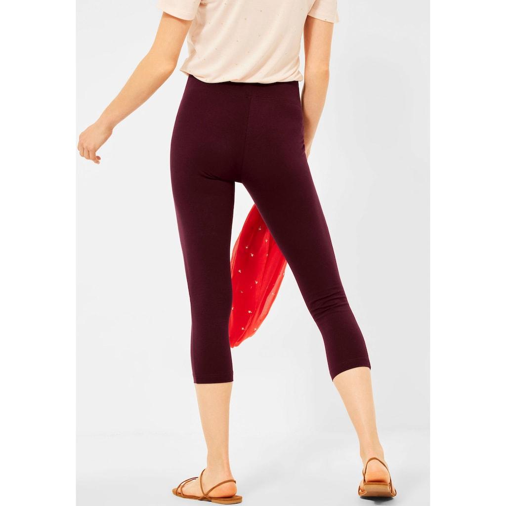 Cecil 3/4-Leggings, das perfekte einfarbige Basic