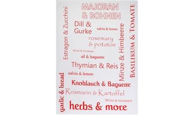 stuco Geschirrtuch »Herbs&More« kaufen