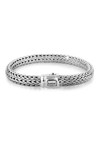 Kuzzoi Armband »Gliederarmband Basic Cool unisex 925 Silber« kaufen