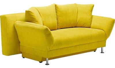 reposa Schlafsofa »Lutago«, mit Bettfunktion und Bettkasten kaufen