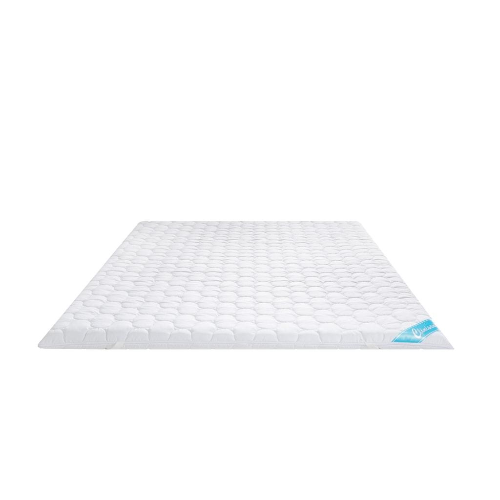 fan Schlafkomfort Exklusiv Topper »Clinisan Punktoflex«, (1 St.), spezielle Noppenstruktur des Kern bietet ideale Druckentlastung und erholsamen Massageeffekt