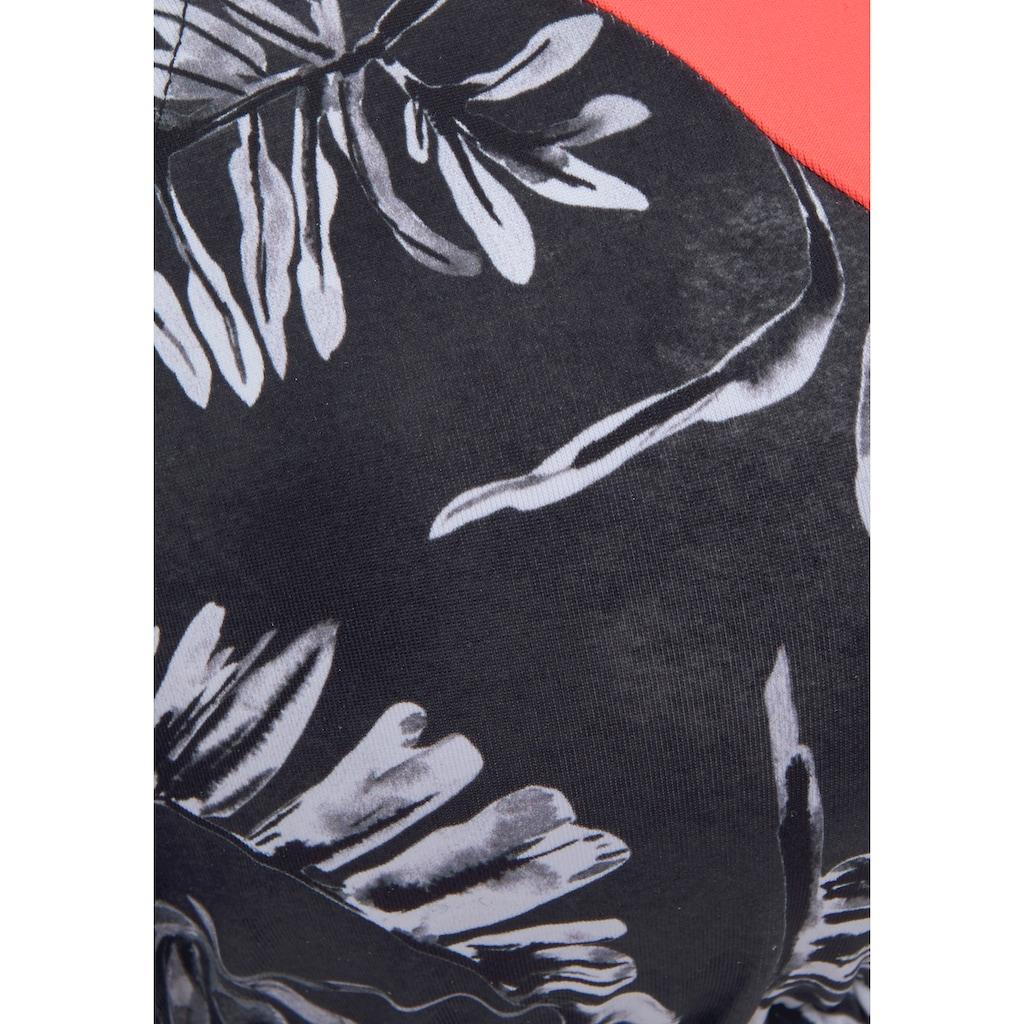 Sunseeker Triangel-Bikini-Top »Mono«, mit kontrastfarbenem Einsatz
