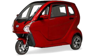 ECONELO Elektromobil »ECONELO Z1«, 3000 W, 45 km/h, Alufelgen, elektrische Fensterheber, Rückfahrkamera, MP3-Player und FM Radio kaufen