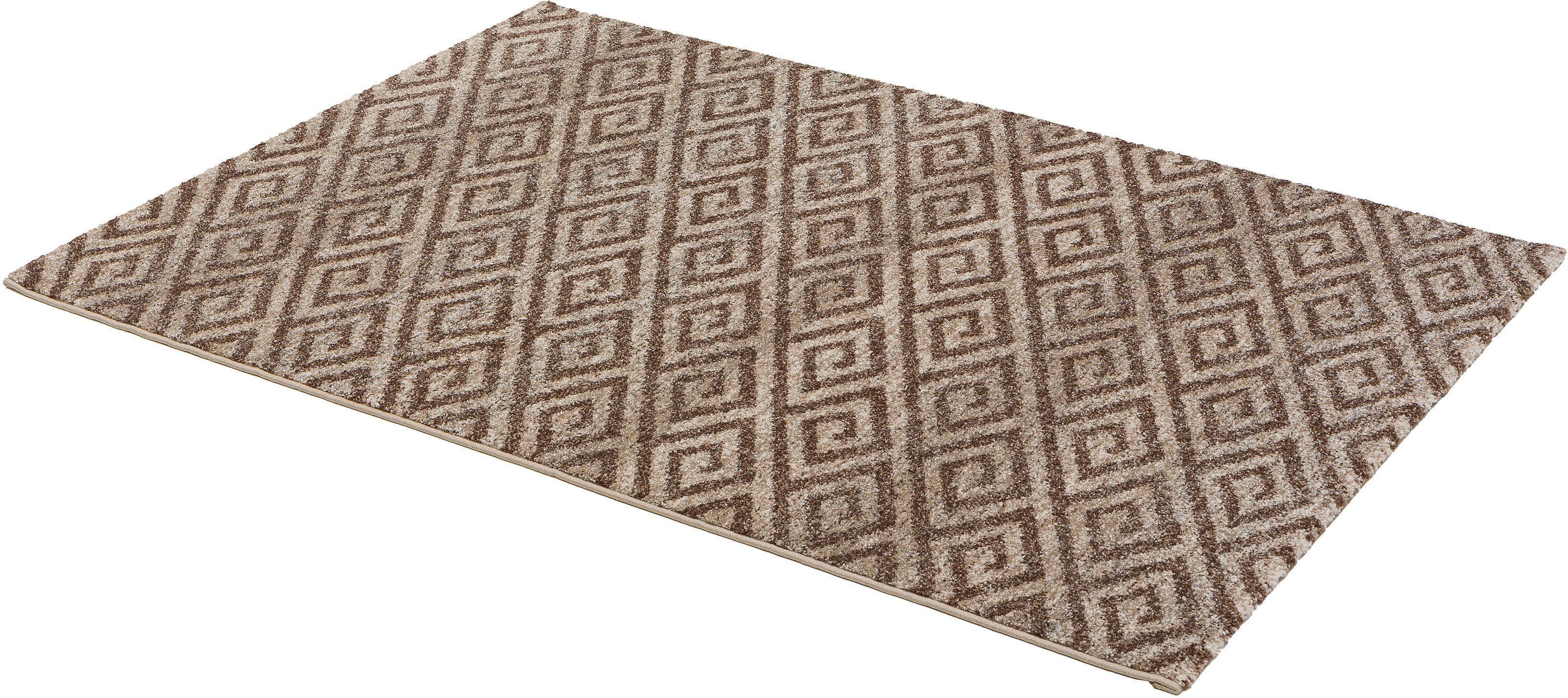 Teppich Carpi Raute ASTRA rechteckig Höhe 15 mm