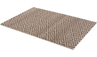ASTRA Teppich »Carpi Raute«, rechteckig, 15 mm Höhe, Wohnzimmer kaufen