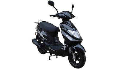 Alpha Motors Mofaroller »Cityleader«, 2,2 PS, 50 ccm, 25 km/h, schwarz inkl. Topcase kaufen