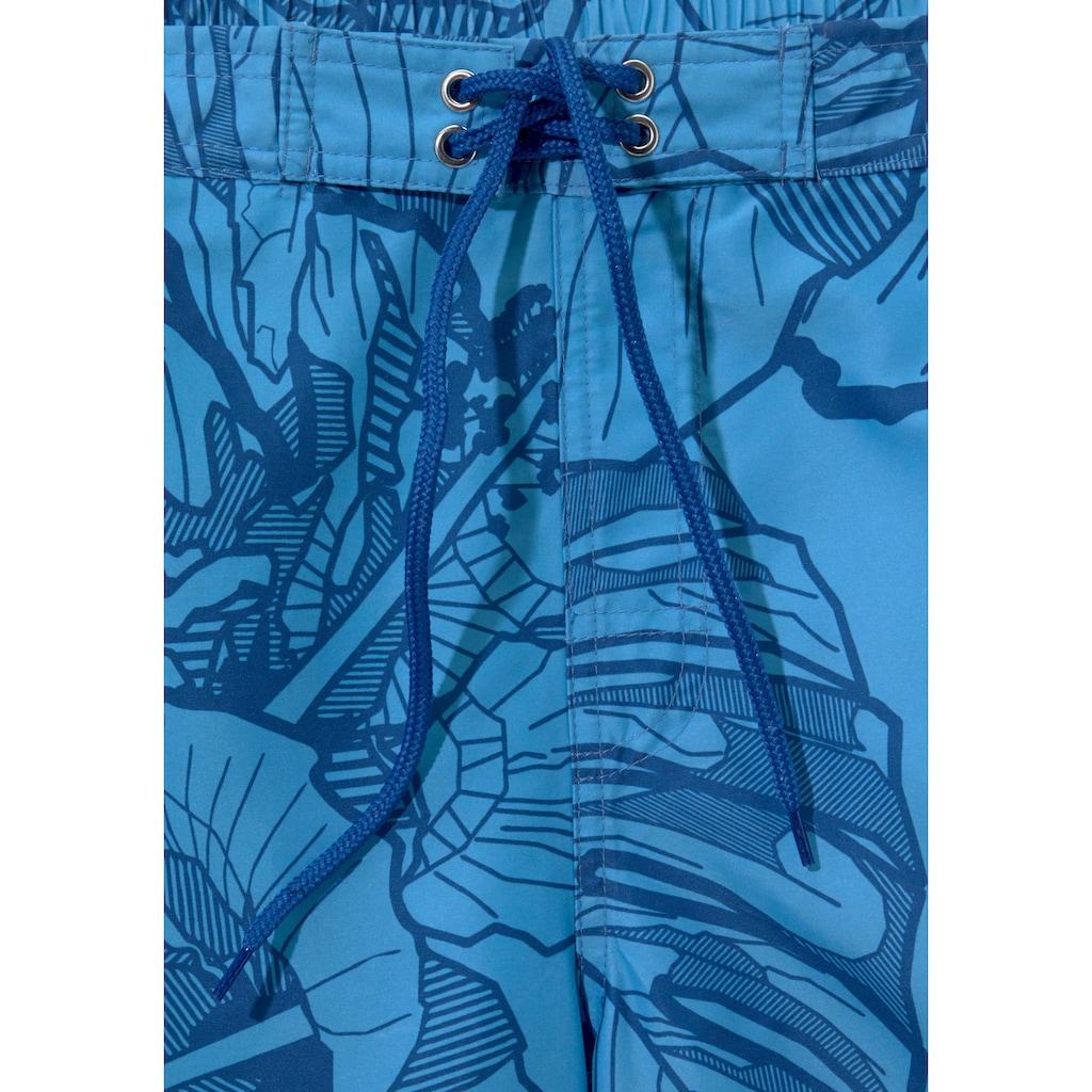 Chiemsee Badeshorts, mit tollem Alloverdruck