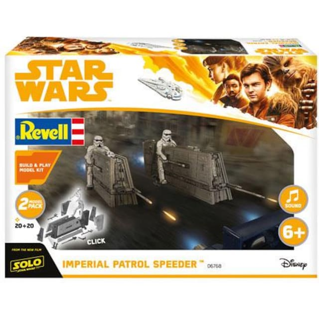 "Revell® Modellbausatz ""Build & Play-Disney Star Wars™-Millennium Falcon"", Maßstab 1:28"