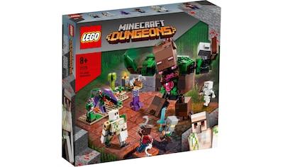 LEGO® Konstruktionsspielsteine »Die Dschungel Ungeheuer (21176), LEGO® Minecraft™«,... kaufen