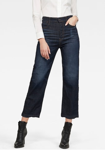 G-Star RAW Ankle-Jeans »Tedie Ultra High Straight Ripped Edge Ankle C Jeans«, mit... kaufen
