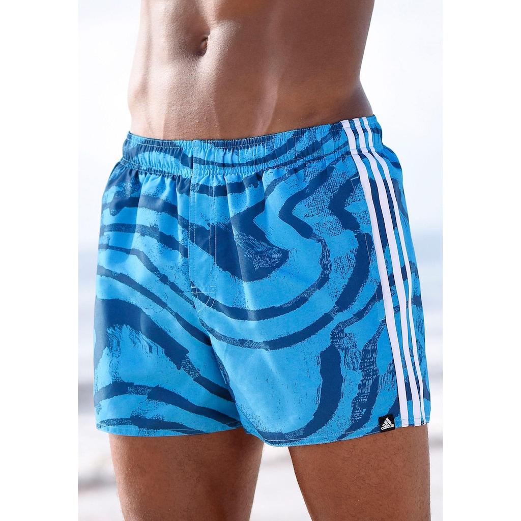 adidas Performance Badeshorts, mit Print